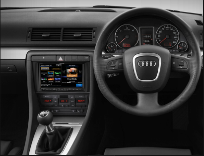 Alpine Audi A4 DAB+ Car Fit Solution product photo
