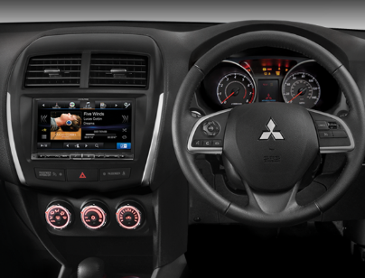 Alpine Mitsubishi ASX DAB+ Car Fit Solution product photo