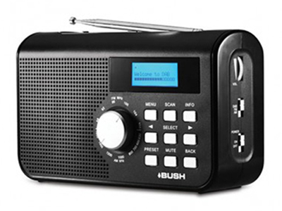 Bush DAB+ Digital Radio with AM + FM Tuner product photo