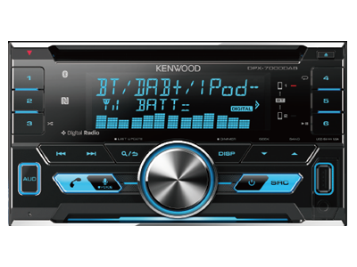 Kenwood DPX-7000DAB product photo