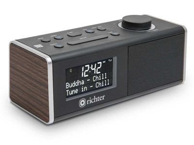 Wake Digital Alarm Clock Radio RR40WAL product photo