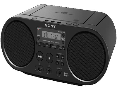 Sony Boom Box ZSPS55B product photo