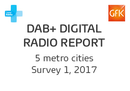 DAB+ Digital Radio Report - 1, 2017 Cover Image