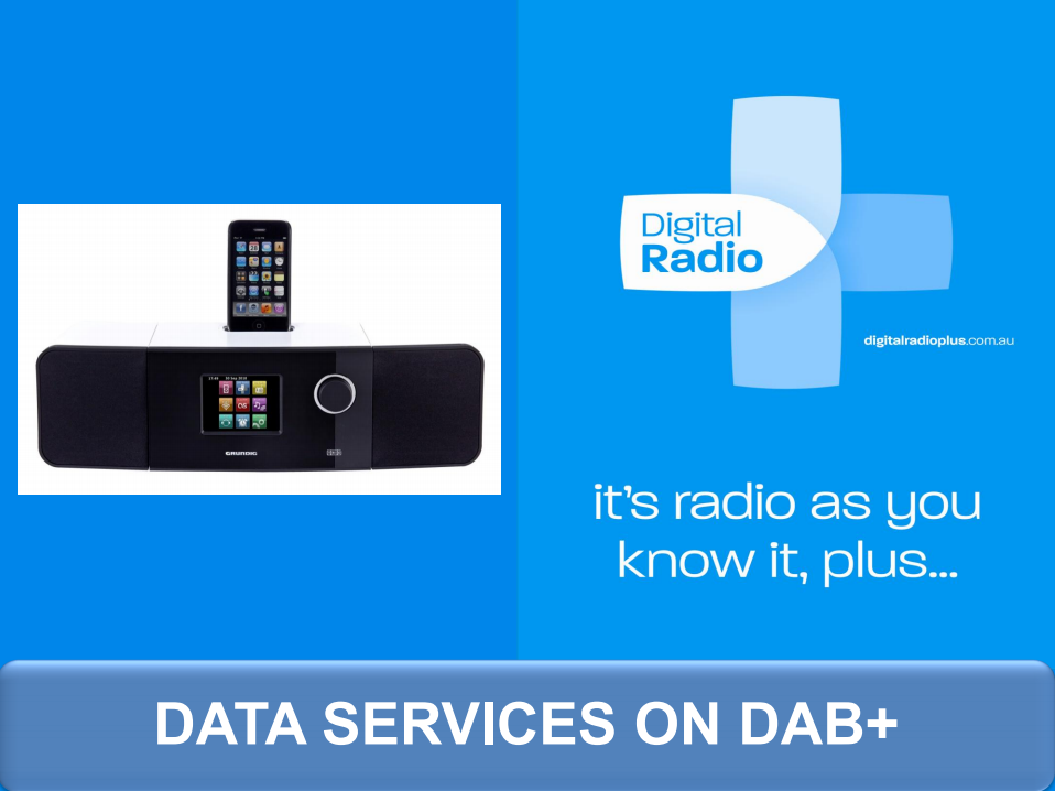 Data Services on DAB+ Cover Image
