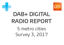 DAB+ Digital Radio Report - 3, 2017 Cover Image