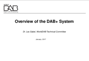 Overview of the DAB+ System Cover Image